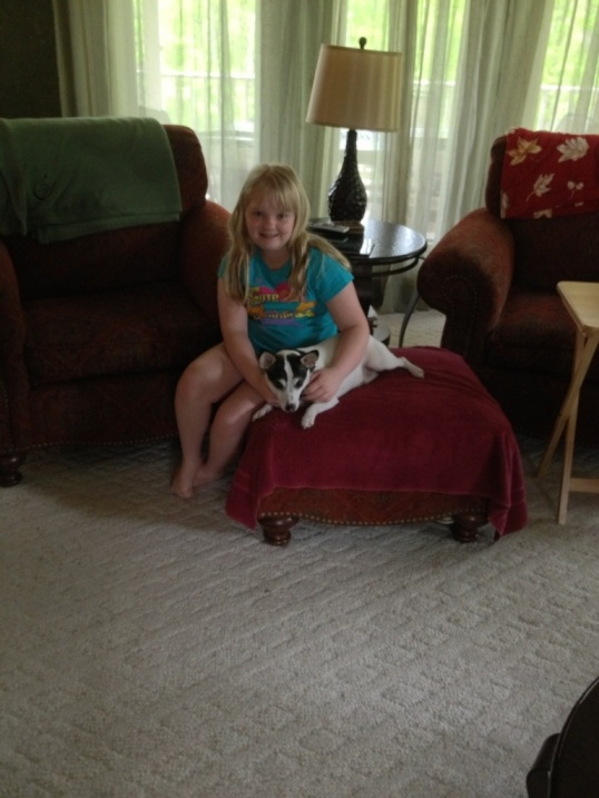 Grace and Sparky