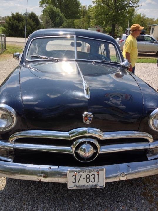 Vintage 1950 Ford