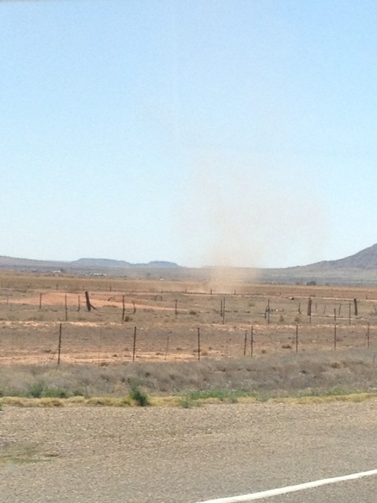Dust tornado