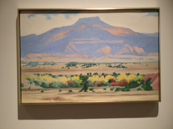 O'Keeffe Landscape of New Mexico
