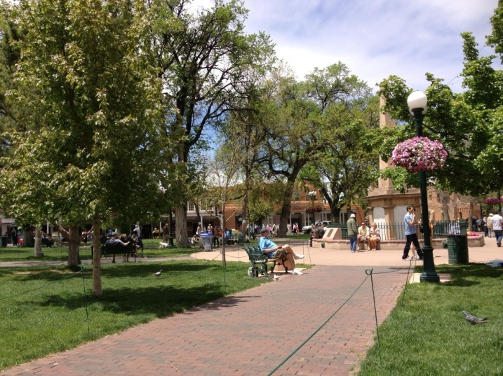 Beautiful Santa Fe Plaza