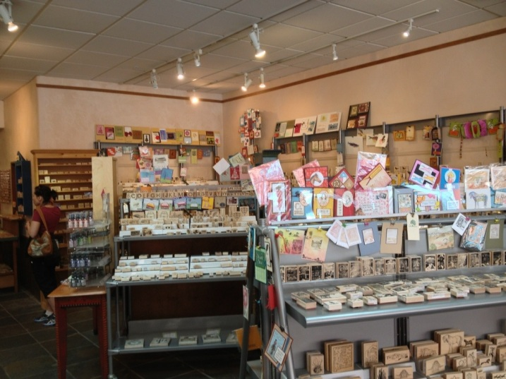 Guadalupe's Fun Rubber Stamps Santa Fe