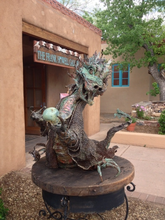 Dragon on Canyon Road