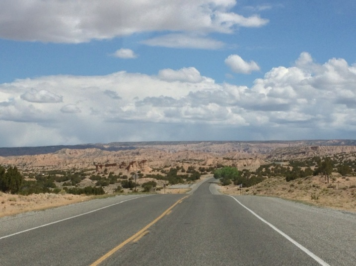 New Mexico open road