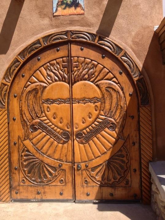 Door at El Santuario de Chimayo
