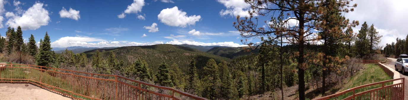 Vista in Carson National Forest
