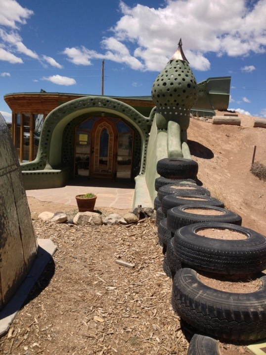 Earthship Front Door