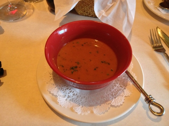 Red Chile Soup from Downtown Bistro