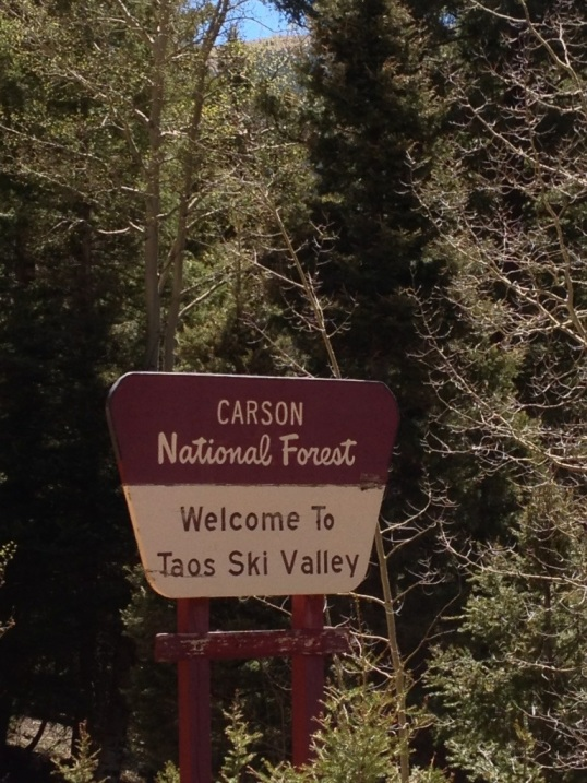 Back to Carson National Forest