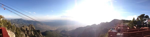 Sandia Peak Panoramic View