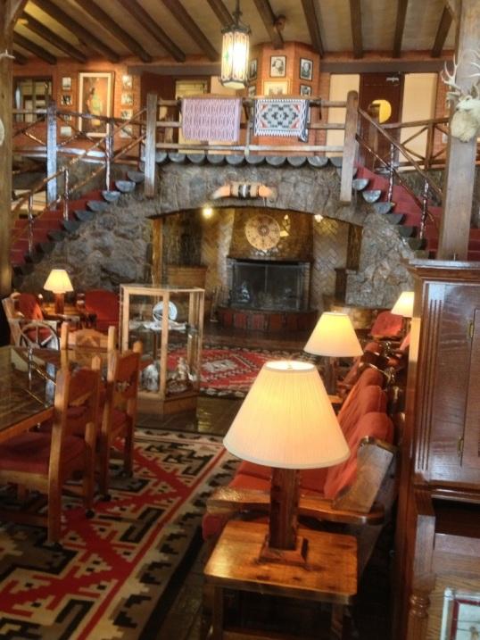 El Rancho Gallup Lobby
