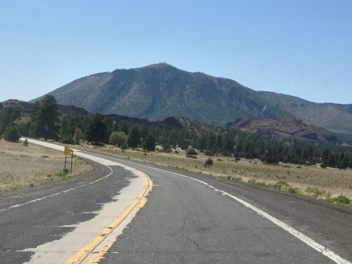 Today's Open Road - Route 66 outside of Flagstaff
