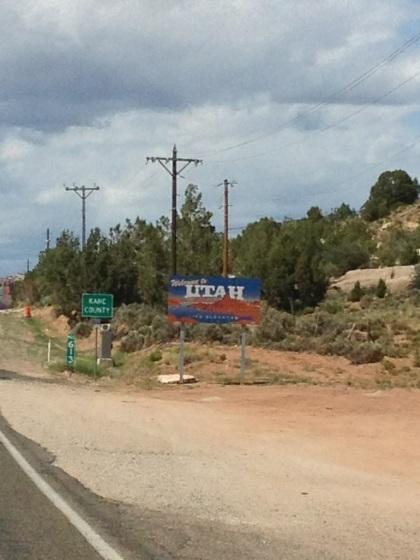 Utah State Border