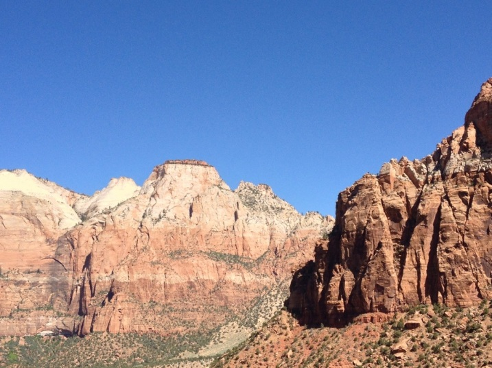 Majestic views on Highway 9 in Zion