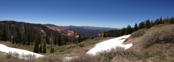 Panoramic view from Cedar Breaks