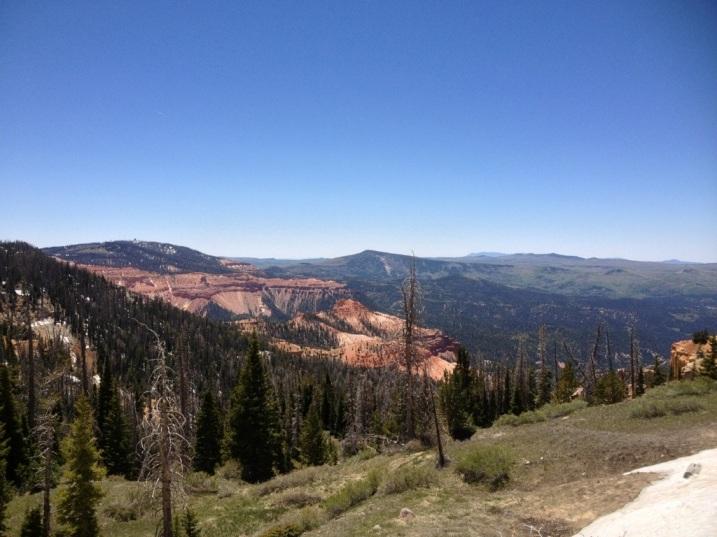 View from Cedar Breaks Scenic Byway
