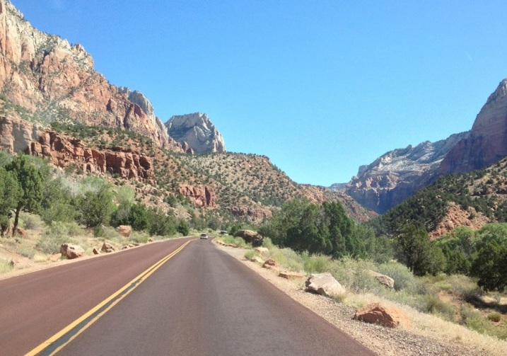 Highway 9 Out of Zion