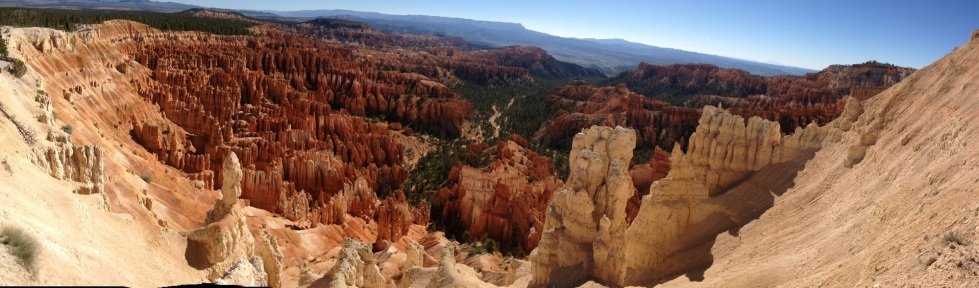 Unusual Bryce Canyon strata called Hoodoos