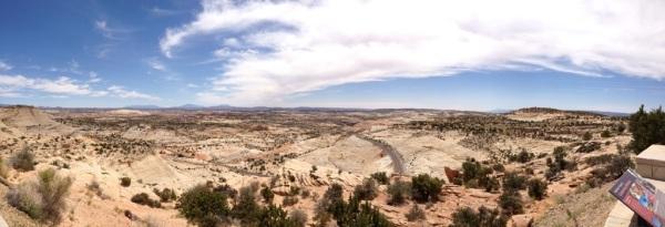 Incredible vista in Escalante National Monument