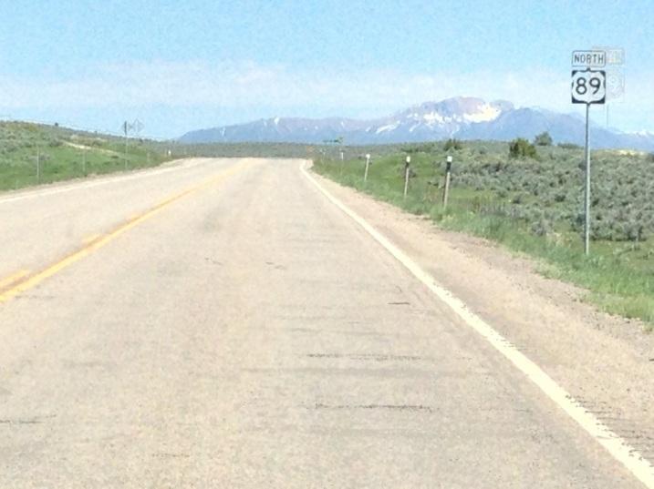Route 89 in Utah
