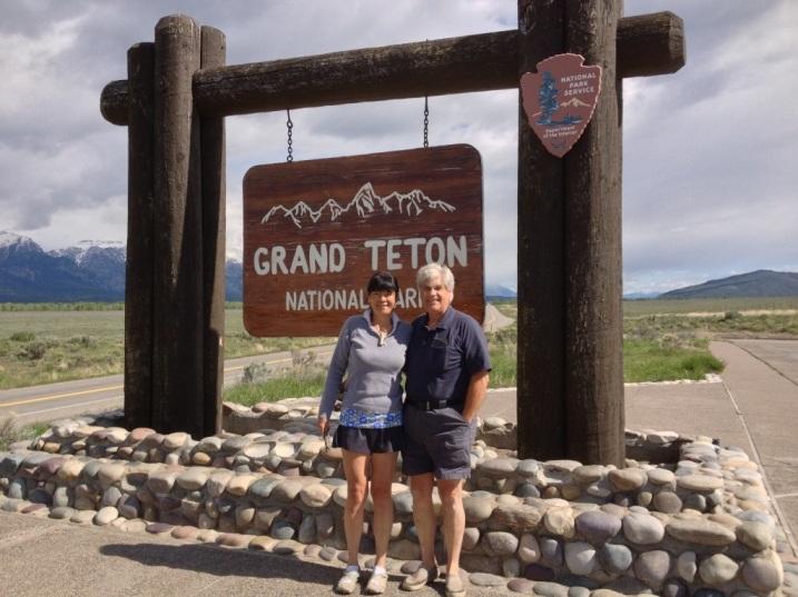 Entrance to Grand Teton National Park