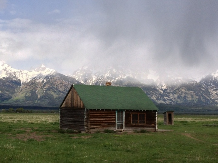 Mormon Cabin in the Tetons