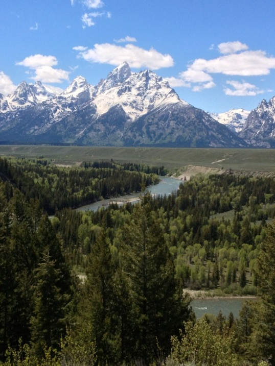 Snake River and Tetons