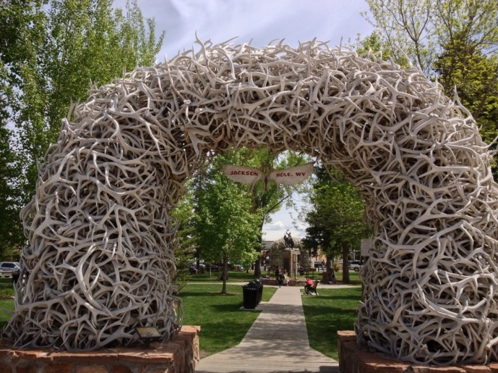 Elk Antler Arch - Jackson Town Square