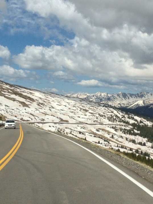 Atop the Trail Ridge Road Scenic Byway