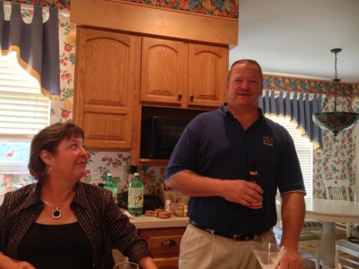 Heather and her husband Tom