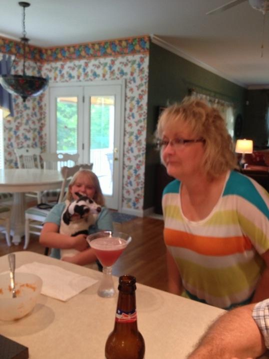 Minda, Grace and Sparky