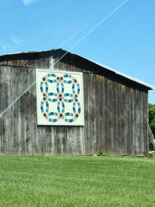 Barn quilt on the Kentucky Quilt Trail