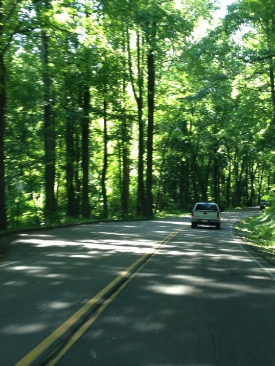 Road to the Smokies. MUCH nicer open road!