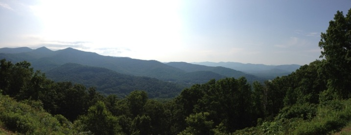 Blue Ridge Parkway Panorama