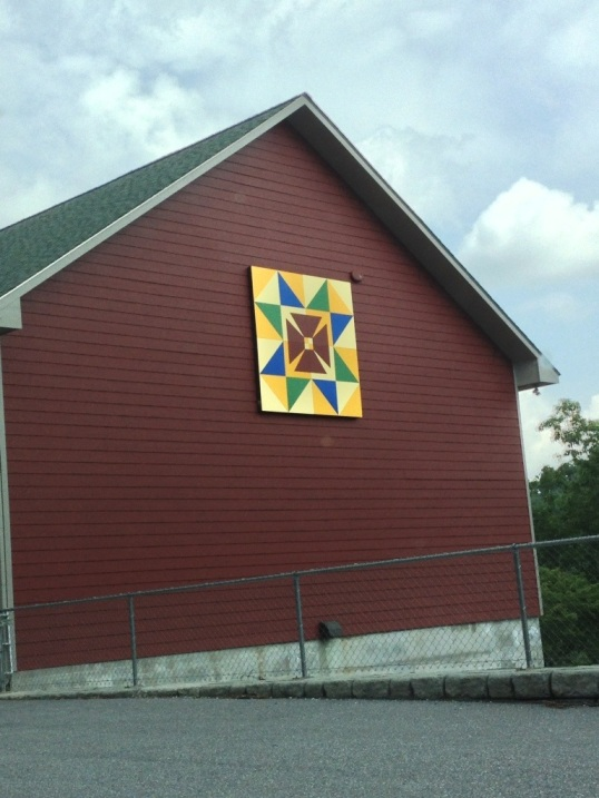 Barn quilt on the way to the Emerald Mines