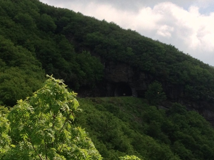 One of the many tunnels on the Blue Ridge Parkway