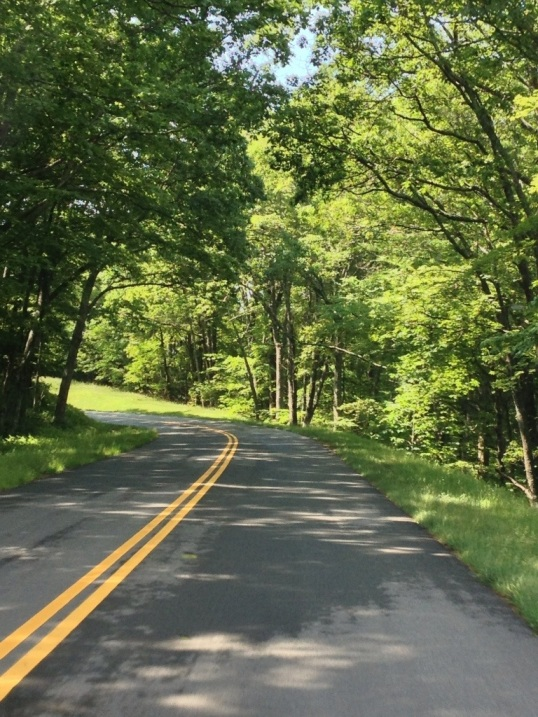 Today's open road - Blue Ridge Parkway