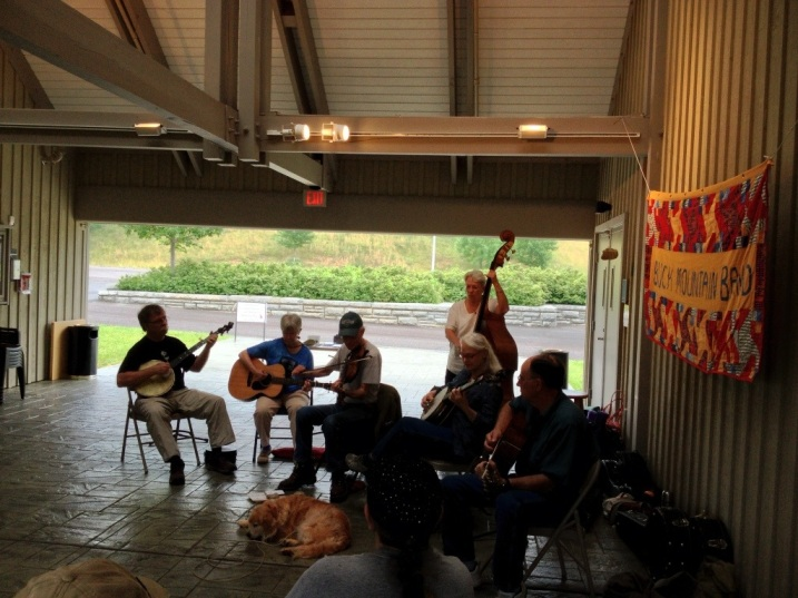 Buck Mountain Band at the Blue Ridge Music Center