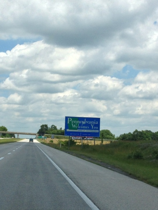 Hello again, Pennsylvania!
