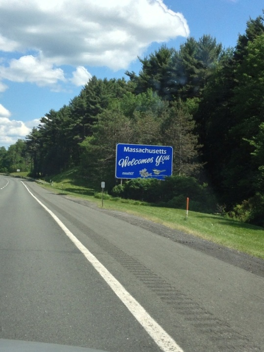 Massachusetts - We skipped it on the way out